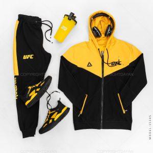 ست سویشرت و شلوار مردانه UFC مدل 15345