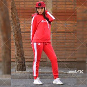 ست دخترانه CHAMPIO (قرمز)
