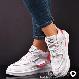 كفش دخترانه سفيد مدل Bahara