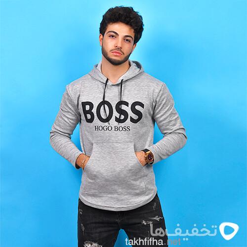سوئيشرت مردانه Boss مدل Adlan