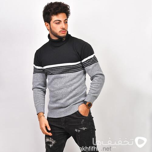 پليور بافت مردانه مدل Afraz