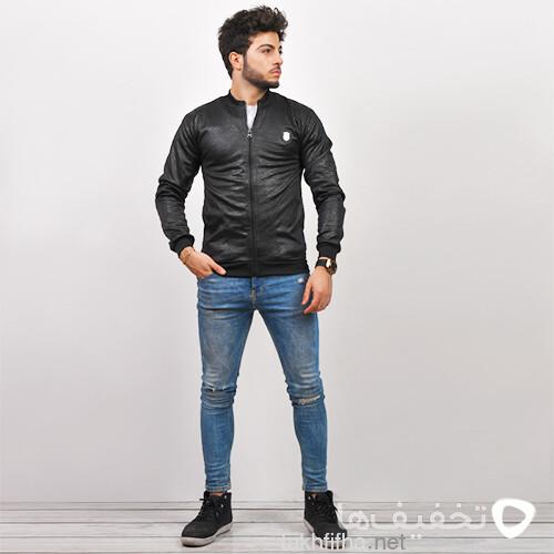 سوئيشرت مردانه مشكي مدل Besam
