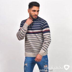پليور بافت مردانه مدل Bertim