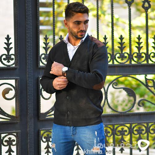 ژاكت بافت مردانه مدل Nicolo