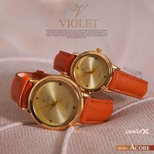 ست ساعت مچی مردانه و زنانه Violet مدل Acore