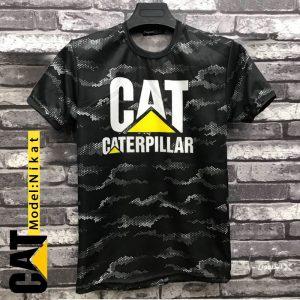 تیشرت مردانه Cat مدل Nikat