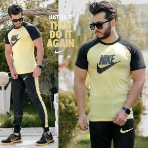 ست تیشرت وشلوار مردانه Nike مدل Adash