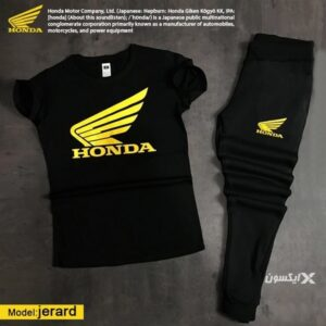ست تیشرت و شلوار مردانه Honda مدل Jerard