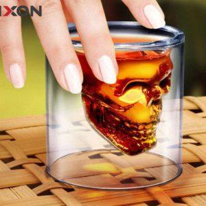 لیوان معروف طرح اسکلت (دوجداره) 1