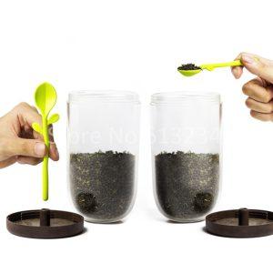 ظرف چای قهوه برگ