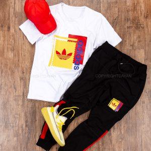 ست تیشرت و شلوار مردانه Adidas مدل 14390 9
