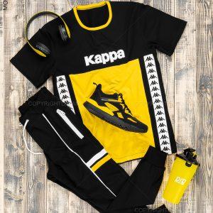 ست تیشرت و شلوار مردانه Kappa مدل 14765