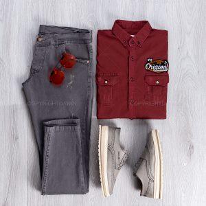 پیراهن مردانه Benson مدل 13649