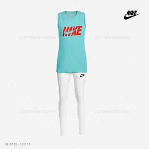 ست تاپ و شلوار زنانه Nike مدل 10219