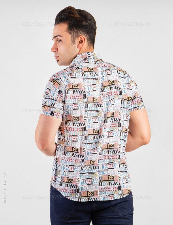 پیراهن مردانه Alma مدل 14184