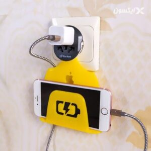 نگهدارنده موبایل هنگام شارژ 2