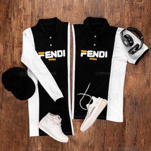 ست دو نفره Fendi مدل 14506