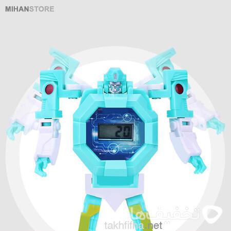 ربات تبدیل شونده به ساعت