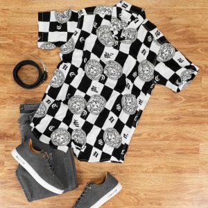 پیراهن مردانه Versace مدل 14699