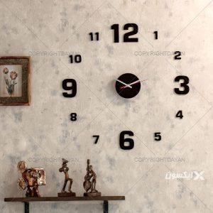 """ساعت دیواری روکش مخمل """"برلین"""""""