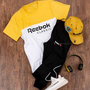 ست تیشرت و شلوار مردانه Reebok مدل 14356