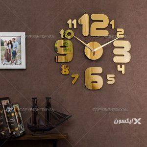 ساعت دیواری شایان(طلایی)