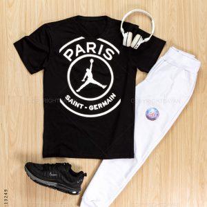 ست تیشرت و شلوار مردانه Paris مدل 13249