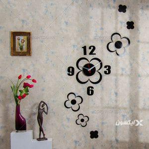 ساعت دیواری گل پر 9