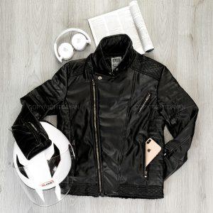 کاپشن چرمی مردانه Zara مدل 14815