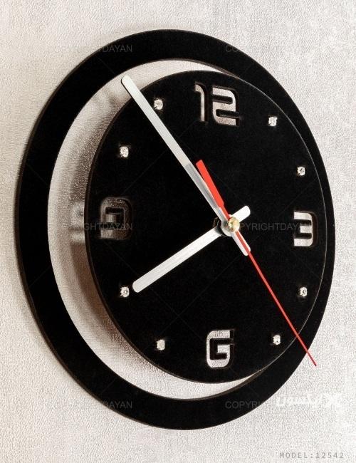 ساعت دیواری غزل مدل 12542