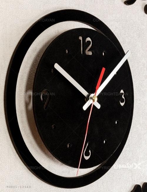 ساعت دیواری Flower مدل 12543