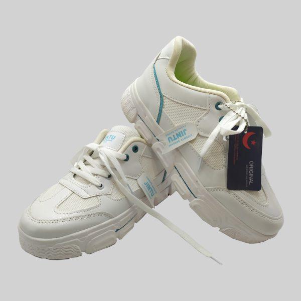 کفش اسپرت زنانه jintu مدل 20941 سفید
