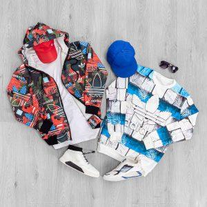 ست بلوز و سویشرت مردانه Adidas مدل 18290