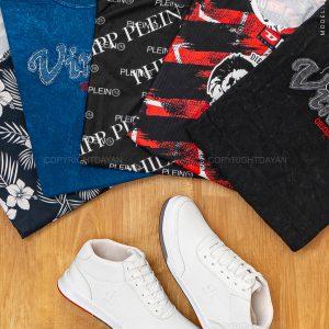 کفش مردانه Calvin Klein همراه هدیه (تیشرت مردانه) 35