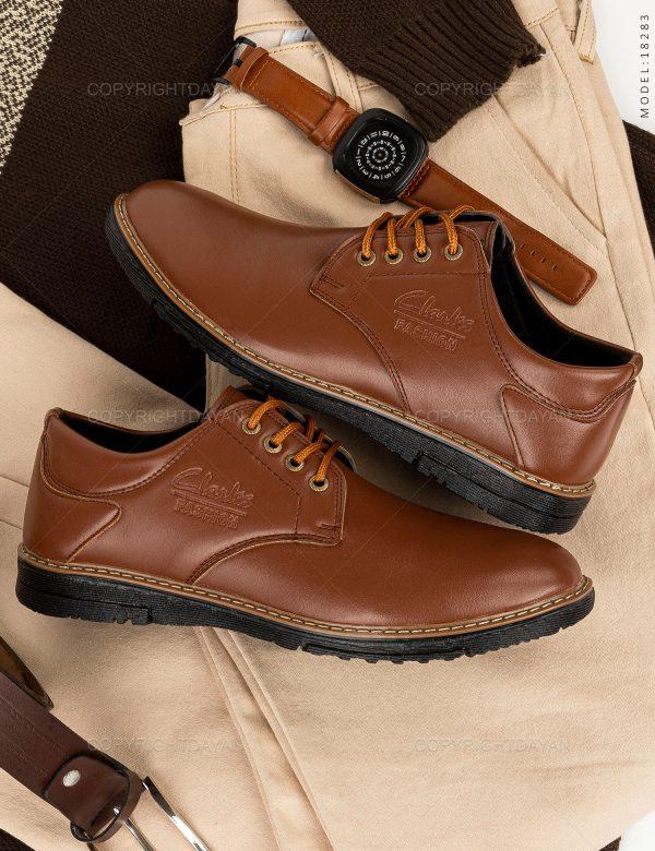 کفش مردانه Clarks مدل 18283