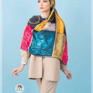روسری ابریشم ساتن مدل ۲۰۹۷۵ 41