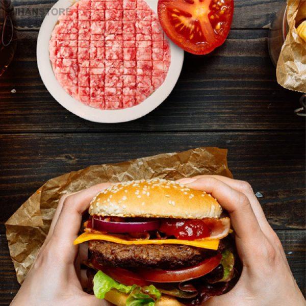 همبرگر زن دستی progerssive