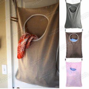 کیسه لباس چرک پشت دری