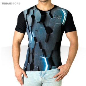 تی شرت سه بعدی Hex
