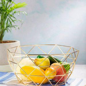 سبد میوه طلایی